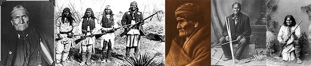Der Indianer Geronimo